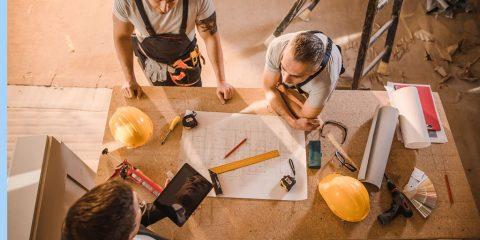 Home Remodel Contractors Collaborating