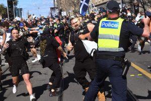 Australian COVID-19 Protests Turn Violent